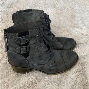 Brand New Roxy combat boots 8